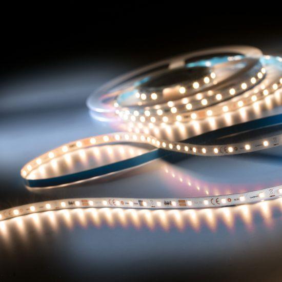 LumiFlex350 Pro Samsung Striscia LED bianco caldo CRI80 2700K 6500lm 24V 70 LEDs/m 5m bobina (1300lm/m 12.6W/m)