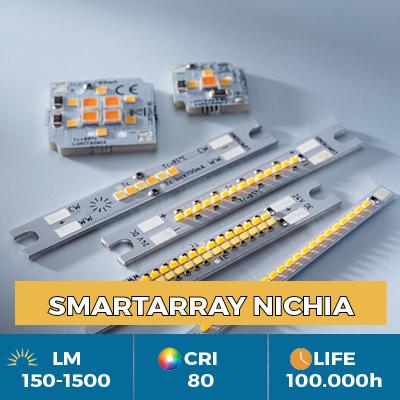 Moduli LED professionali SmartArray LED Nichia, per l'illuminazione di corpi illuminanti