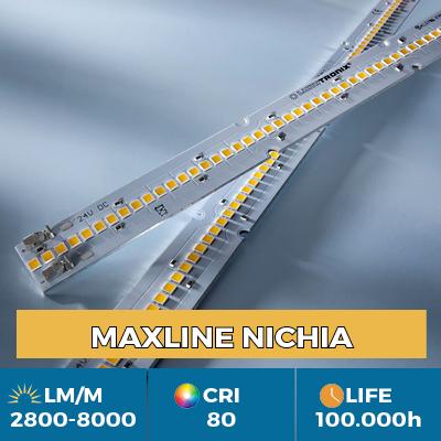 Strisce LED professionali Maxline, Plug & Play, flusso luminoso fino a 8000 lm / m