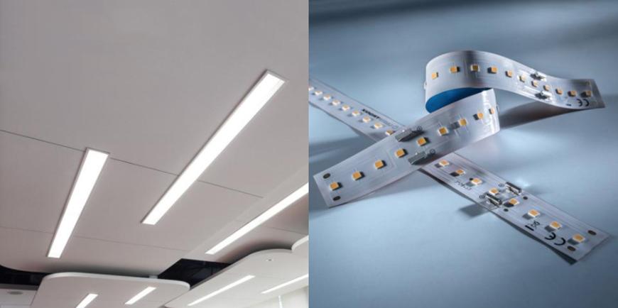 Striscia LED professionale Z-Flex 540 Seoul, fino a 5300 lm per metro
