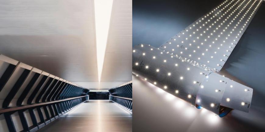 Striscia LED professionale Z-Flex 980 Seoul, fino a 6200 lm per metro